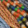 African ring beads