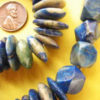 Pretty blue lapis lazul African beads