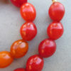 Beautiful African Tomato Beads